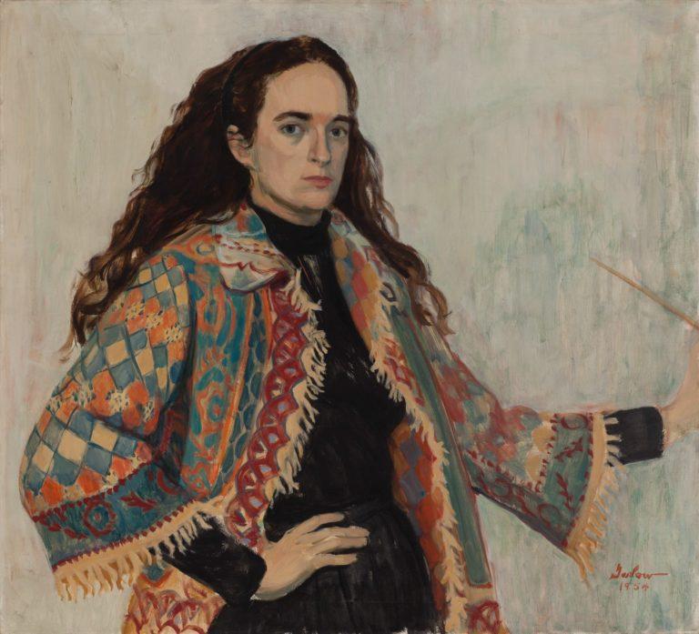 Self Portrait Persian Jacket