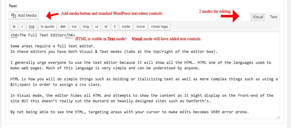 Full Text Editor
